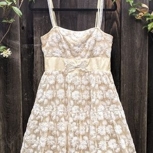 Anthropologie Lace Dress Lil Hour by Hour sz 8